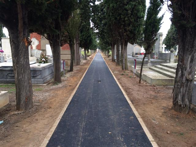 Pavimentación de calles.